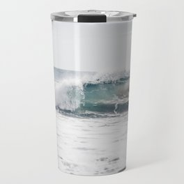 Malibu, mint, SoCal, beach photography, Los Angeles, beach, seaside, California, surf, California p Travel Mug