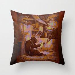 AnimalCurios 01 Throw Pillow