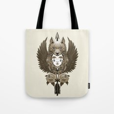 Native girl (light version) Tote Bag