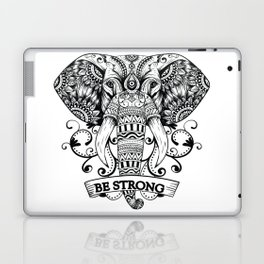 Mandala Elephant Laptop & iPad Skin