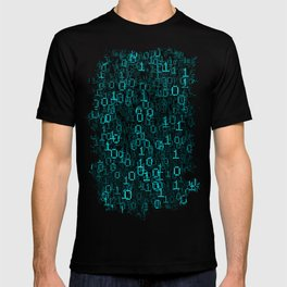 Binary Data Cloud T-shirt