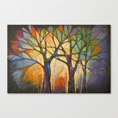 Sounds of the Forest Canvas Print