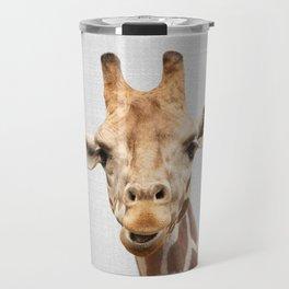 Giraffe 2 - Colorful Travel Mug