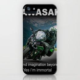 Kawasaki extreme accessories iPhone Case
