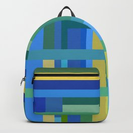 Cool Color Composition Backpack