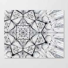 integration Canvas Print