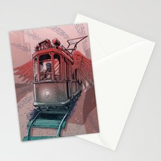 Winged Tram Stationery Cards