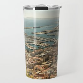 Alicante from the top of the hill Travel Mug