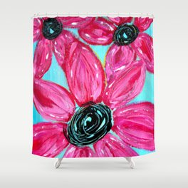 Summertime Remembered Shower Curtain