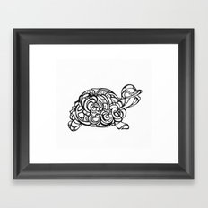 Dream Turtle Framed Art Print