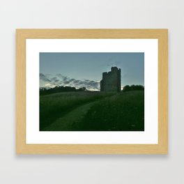 Castle in the Distance Framed Art Print