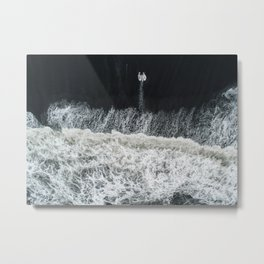 Mother Earth and her Child Metal Print