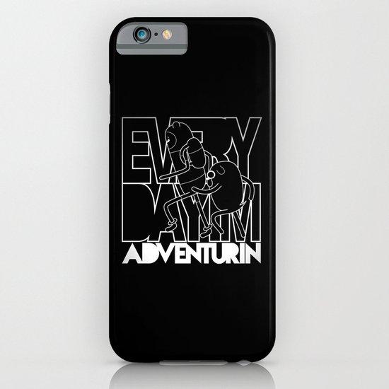 Every Day I'm Adventurin' - Light iPhone & iPod Case