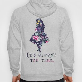 Alice floral designs - Always tea time Hoody