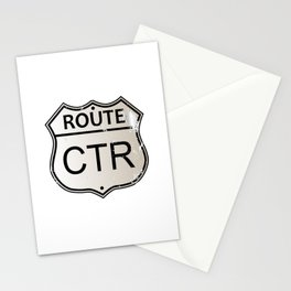CTR Highway Sign Stationery Cards
