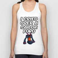 kill la kill Tank Tops featuring Kill la kill - SENKETSU by Fenlaf