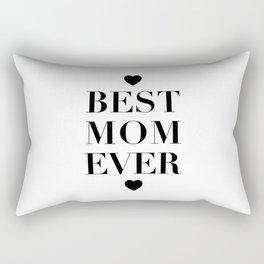 Best Mom Ever Rectangular Pillow