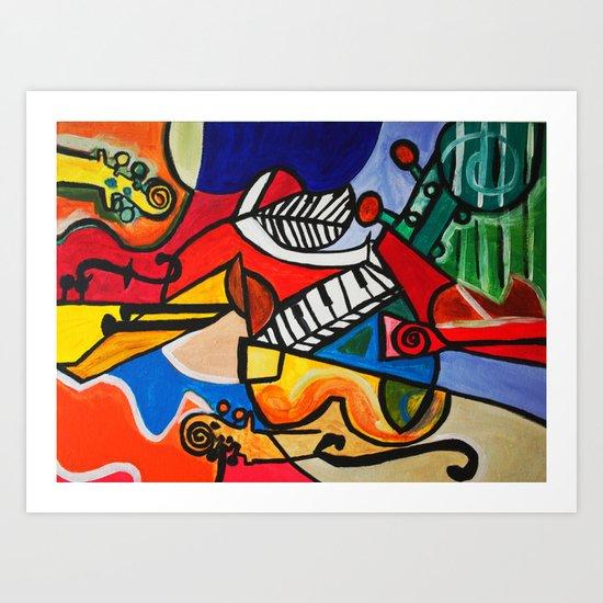 Endless Music Art Print