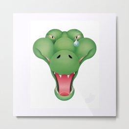 aligator Metal Print