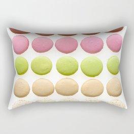 Multicolored macarons Rectangular Pillow