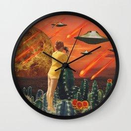 RAIN DOWN Wall Clock