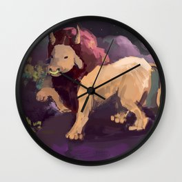 taurus/leo Wall Clock