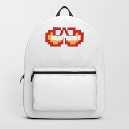 Vintage Game Fire | Run Now Backpack