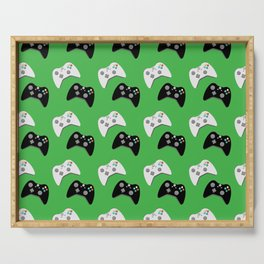 Video Game Controllers Serving Tray