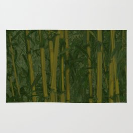 Bamboo jungle Rug