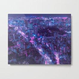 Tokyo 20XX Metal Print