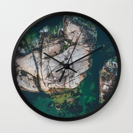Island America Flag Wall Clock