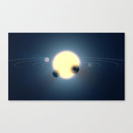 sector space Canvas Print
