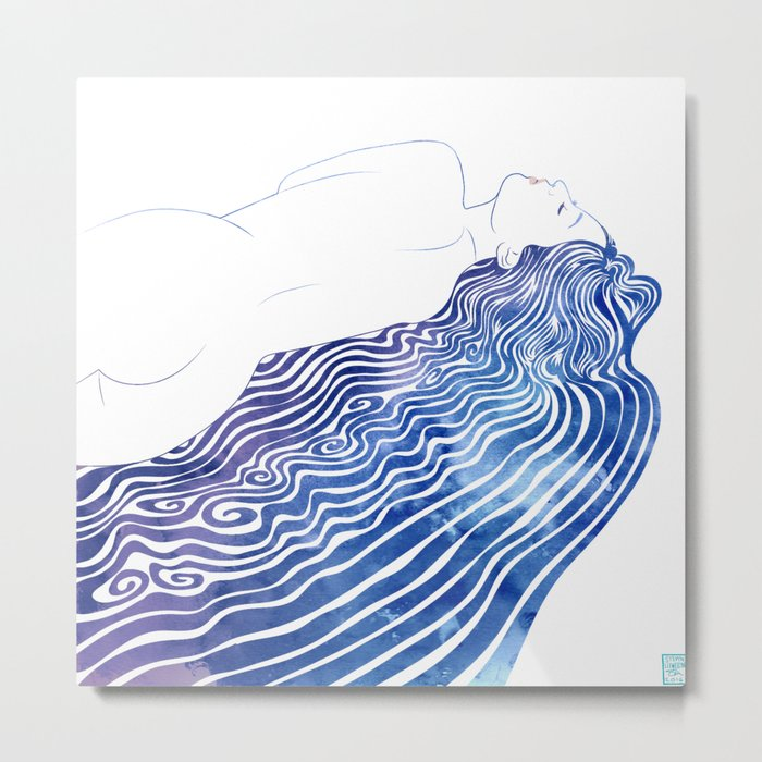 Water Nymph XXXVIII  Metal Print