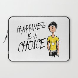 Happiness is a Choice Laptop Sleeve