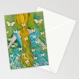 The Butterfly Girl Stationery Cards