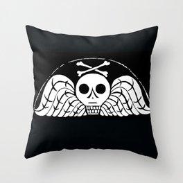 Death's Head Throw Pillow