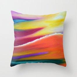 Celestial Clouds Throw Pillow