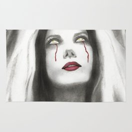 Cristina Scabbia Vampire Bride Rug