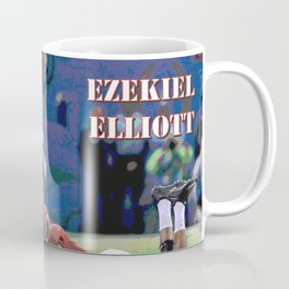 Ohio State Buckeyes - Ezekiel Elliott (2015) (Vector Art) Coffee Mug