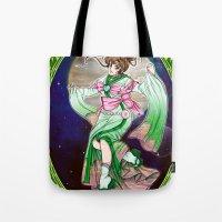 sailor jupiter Tote Bags featuring Sailor Jupiter by Sophira-lou