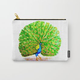 Impossibly Peacock Carry-All Pouch
