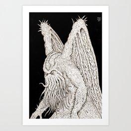 The Great Chtulhu Art Print
