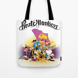 Pirate Monkeys Tote Bag
