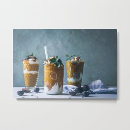 vegan food #society6 #decor #buyart Metal Print