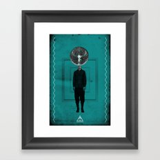 disco man Framed Art Print