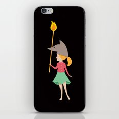Wolfbelina iPhone & iPod Skin