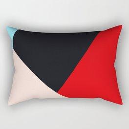 Abstract Shape #3 Rectangular Pillow