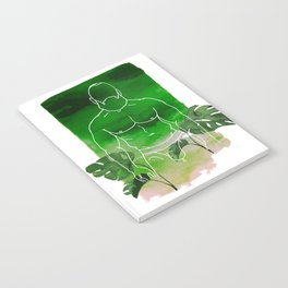Monstera Daddy Notebook
