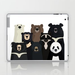Bear family portrait Laptop & iPad Skin