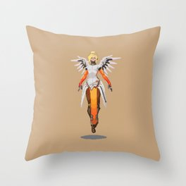 Pixel Mercy Throw Pillow